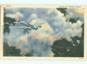 Linen Military usaf WWII US AIR FORCE BOEING B-17 FLYING FORTRESS AC6899