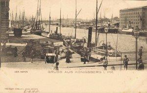 Germany Der Hafen Gruss aus Königsberg 03.87