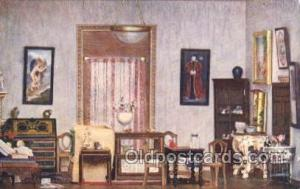 Princess Daphne's Bedroom Titania's Palace Royalty Postcard Postcards  Prince...