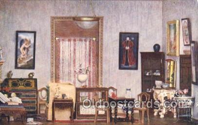 Princess Daphne's Bedroom Titania's Palace Royalty Postcard Postcards  Prince...