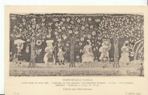 Museum Postcard - Embroidered Panels - 'Labours of The Months - Summer  ZZ2566