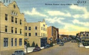 Sherman Ave. Coeur d'Alene ID Unused