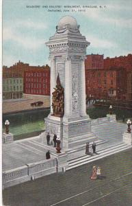 New York Syracuse Soldiers and Sailors Monument