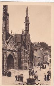 La Chapelle Du Penity, Le Porche de L'eglise, Le Vieux Pults, LOCRANAN, Finis...