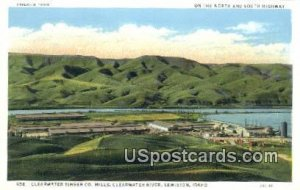 Clearwater Timber Co Mills - Lewiston, Idaho ID