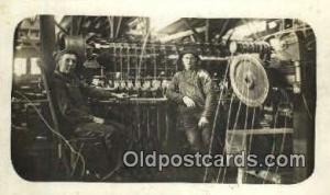Cambridge Indiana, Rogal American Steel & Wire Real Photo People Working Post...