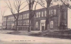 Maine Pemaque Isle High School