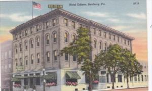 Peennsylvania Sunbury Hotel Edison