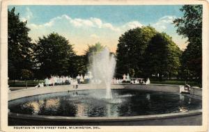 WILMINGTON DELAWARE 10TH STREET PARK FOUNTAIN