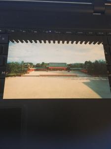 Vintage Postcard: The Pavilion, The Heian Shrine