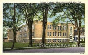 High School Dunkirk NY Unused
