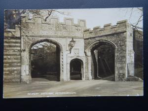 Peterborough DEANERY GATEWAY - Old RP Postcard