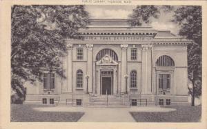 Exterior, Public Library, Taunton,  Massachusetts,  PU_1915