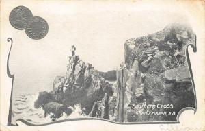 Grand Manan New Brunswick 5 Cent Coin Postcard