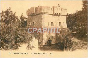 Old Postcard Chatelaillon Fort St. John