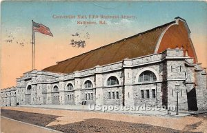Convention Hall, Fifth Regiment Armory in Baltimore, Maryland