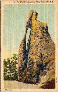 postcard South Dakota - The Needle's Eye, Custer State Park, Black Hills
