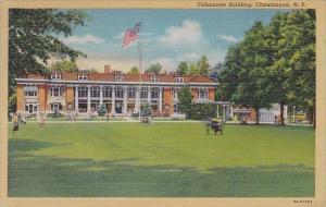 New York Chautauqua Colonnade Building 1945