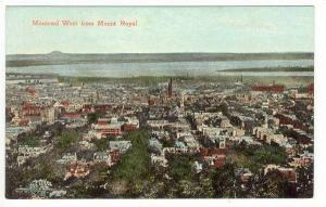 Montreal West From Mount Royal, Montreal, Canada, 1900-1910s