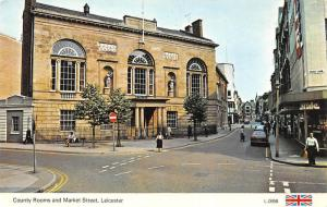 Leicester County Rooms and Market Street Cars Voitures