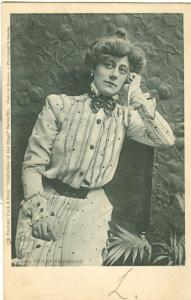 Miss Violet Vanbrugh, Actress, Tuck Celebrities of the Stage