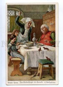 187331 Pied Piper Hamelin RATS by HERRFURTH vintage #242-4388