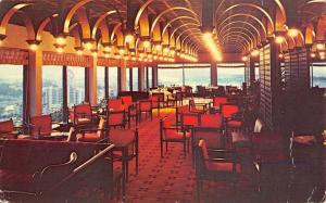 San Juan Puerto Rico Sheraton Hotel Interior Vintage Postcard K37983