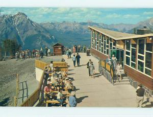 Unused Pre-1980 TOWN VIEW SCENE Banff Alberta AB p8213