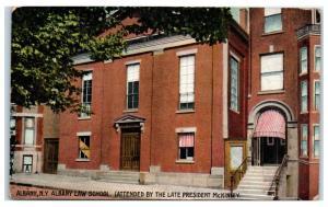 1910 Albany Law School, Albany, NY (Pres. Wm. McKinley's Alma Mater) Postcard