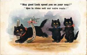 CATS PC May good Luck speed you on your way! (a2173)
