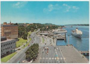 KIEL, Oslo Kai, Germany, 1972 used Postcard