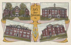 EAST STROUDSBURG , Pennsylvania , 1900-10s; S.N.S. 4 Buildings
