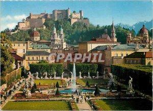 Postcard Modern Mirabellagarten dasKleinod Festspiel der Stadt Salzburg