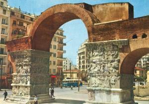 Greece, Thessaloniki, Galerius Arch, 1960s unused Postcard