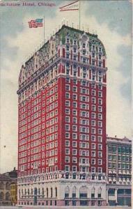 Illinois Chicago Blackstone Hotel 1910