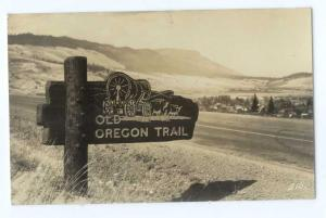RP Old Oregon Trail Highway Sign near La Grande?? OR