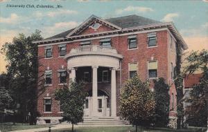 University Club , COLUMBIA , Missouri , PU-1911