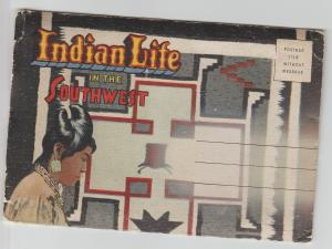 Indian Life in the Southwest Postcard Photo Folder Hopi, Navajo, Native American