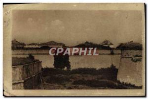 Postcard Old Steam Bagnard Ile de Re Saint Martin The prison