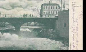 Rhode Island Pawtucket The Falls 1906