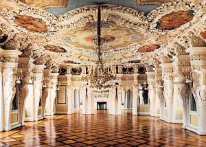 Coburg Schloss Ehrenburg Castle Riesensaal Hall of the Giants