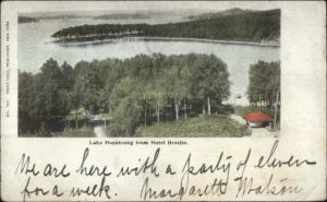 Lake Hopatcong NJ From Hotel Breslin c1905 Postcard