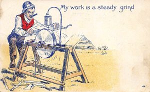 Tools Post Card Grinder 1907
