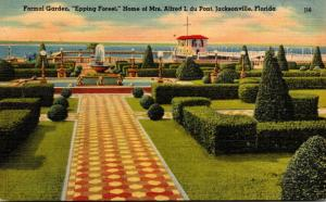 Florida Jacksonville Formal Garden Epping Forest Home Of Mrs Alfred I du Pont