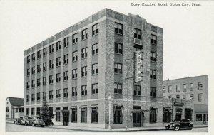 UNION CITY , Tennessee, 1930s ; Davy Crockett Hotel