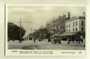 pp1426 - Early Trams in Southport - Lancashire - c1913 - Pamlin postcard