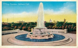 USA California McElroy Fountain The Plaza Church & more Postcard Lot of 8 01.19