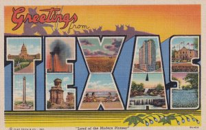 Large Letter TEXAS, 1930-1940s