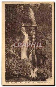 Old Postcard Dauphine sassenage waterfall Paris