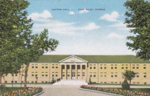 Kansas Fort Riley Patton Hall